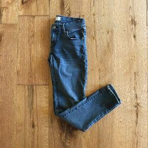 Free People midwash skinny jeans size 24